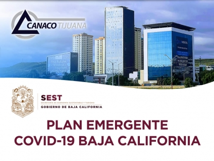 Plan emergente COVID-19 Baja California